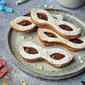 Biscuits sablés {chocolat & <b>noisette</b>} #carnaval