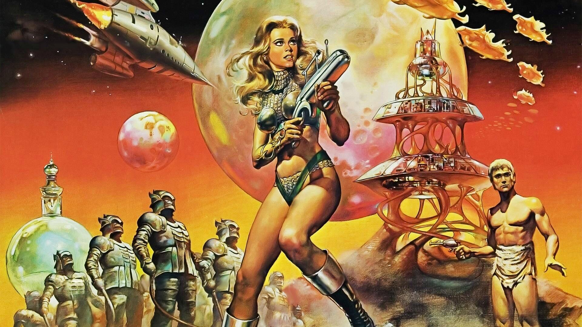 Rétro science-fiction-Barbarella