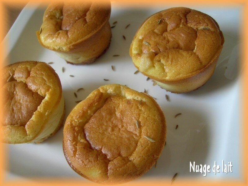 C - LCEB - mini cheese cake - Version Nuage de Lait