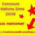 Concours des Créations Sims 2008