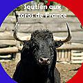 Soutien aux <b>Toros</b> de <b>France</b> - clôture de l'action