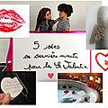 5 idées de dernière minute pour la <b>Saint</b> <b>Valentin</b>... petites attentions pour grands effets...