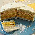Somewhere over the rainbow (cake)