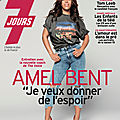 <b>AMEL</b> <b>BENT</b> EN COUVERTURE DU TELE 7 JOURS - 7/13 MARS 2020 (+CAPTURES ARTICLE)