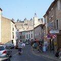 Chateau vue sur la ville Carcassonne