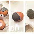Easter eggs concrete Coté Passion