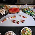 <b>Gâteau</b> d'<b>anniversaire</b> Petit train