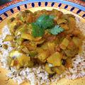 Champignons à l'indienne - recette végétarienne