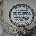 MICAT André Augustin (Cluis) + 28/10/1914 Gray (71)