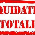 Liquidation totale - 11 et 12 septembre 2015