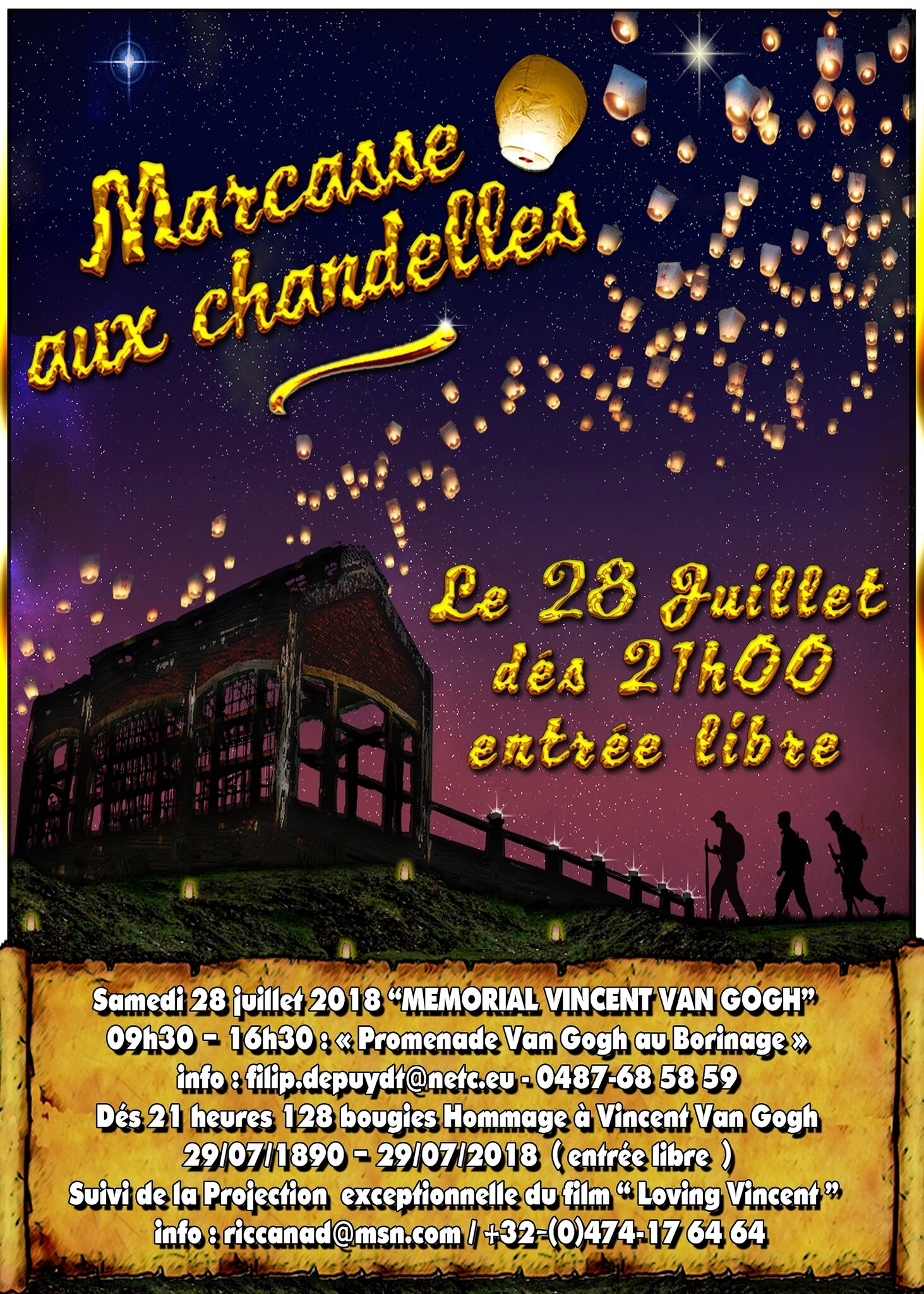"28-07-2018 : ""Marcasse aux Chandelles"" (Marcasse by Canddle light)"