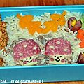Lunchbox/bento #32 automne