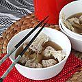 Soupe de raviolis chinois, la recette vidéo pas-à-pas pour faire vos wontons