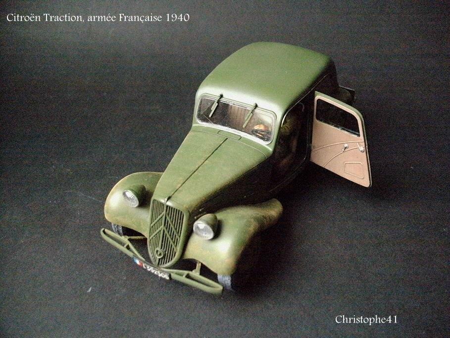 Citroën Traction, armée Française 1940 - PICT5026