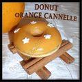 Donuts orange cannelle pour appareil électrique...