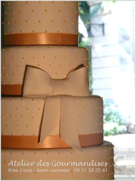 wedding cake atelier des Gourmandises 1