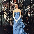 Balenciaga 1954 Evening Gown