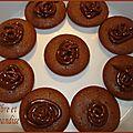 Bouchées façon cupcakes