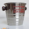 Objet Pub ... <b>SEAU</b> A GLACE Canard Duchêne * Champagne