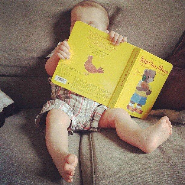 Le coin lecture des tout-petits #1