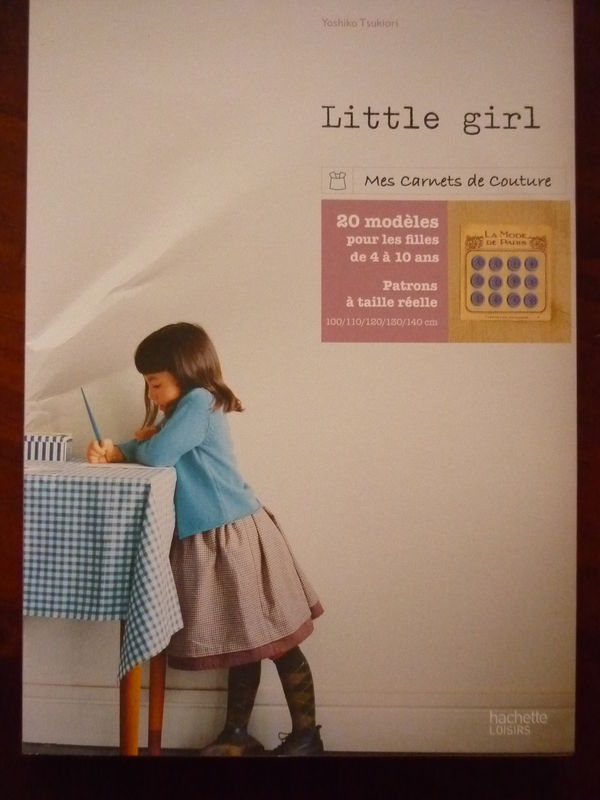 Carnet couture Little Girl