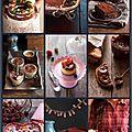 Un tiramisu, un cheesecake et un gâteau de fête au chocolat…