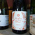 Des vins blancs du Languedoc, de Savoie, et d' Alsace dégustés en partie <b>à</b> <b>l</b>'<b>aveugle</b>.