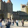 Carcassonne et sa cité médiévale, la plus grande d'europe