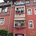 ♥ L'Alsace ; Riquewihr et ses <b>oriels</b> ♥