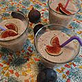 Smoothie aux figues & a la banane