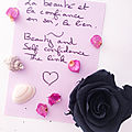 Beauté, féminité et confiance en soi, le lien/ <b>Beauty</b>, femininity and self-confidence, the link