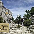 Crête de Saint-Amand 732 m du col de la Chaîne – <b>Malaucène</b> 84340