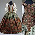 Hungarian <b>court</b> <b>dress</b>, 17th century