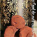 Truffes chocolat/carambar