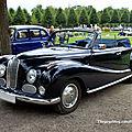 Bmw 501 V8 cabriolet Baur de 1955 (9ème Classic Gala de Schwetzingen 2011) 01