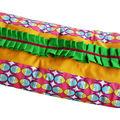 Original Plaid (Couverture) Naissance coloré et frOufrouté