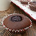 Petits brownies aux cerises