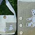sac ours blanc