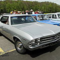 Chevrolet <b>Chevelle</b> Concours Sport hardtop sedan-1969