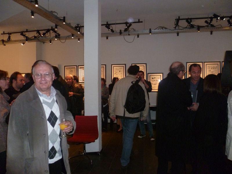 à gauche: Philippe Fleuret, de dos à droite: Philippe Geluck !