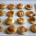 Minis tartelettes au fromage de chèvre