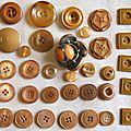 Collection boutons (suite) et une petite histoire