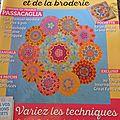 Magazine patchwork et broderie ruban