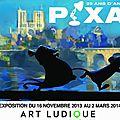 Les Arts Ludiques et l'imaginaire <b>Pixar</b>