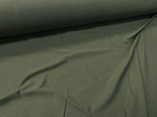 jersey coton bio vert profond