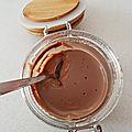 Crème dessert chocolat façon mont blanc