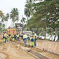 Les chantiers du Plan d'urgence triennal lancés à Douala