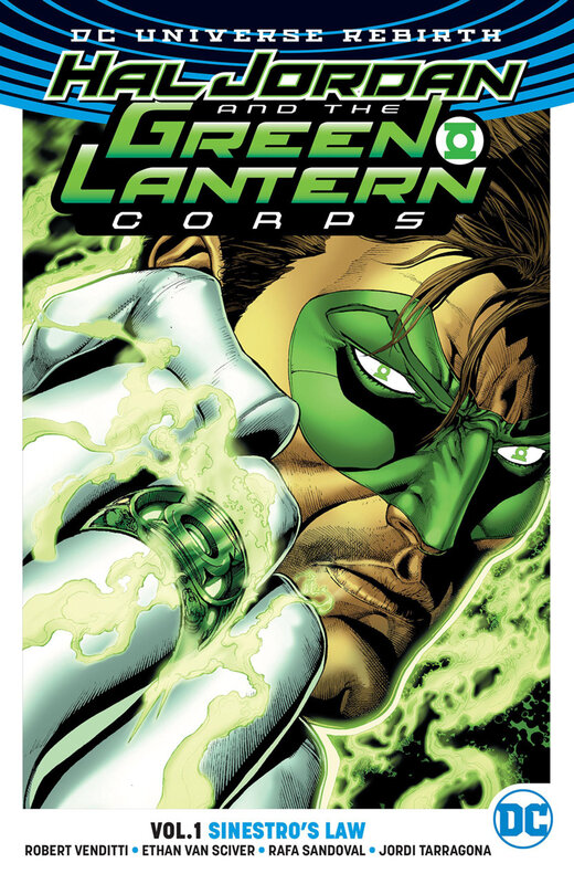 rebirth hal jordan and the green lantern corps vol 01 sinestro's law TPB