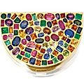 18 karat gold and gem-set <b>vanity</b> <b>case</b>, Suzanne Belperron, Paris, circa 1945