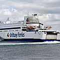 La <b>Brittany</b> Ferries ferme ses lignes normandes: la mise au point d'Eric VALIN